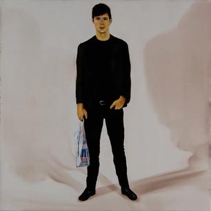 Alex. Oil on linen. 50 x 50 cm. 2009.