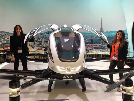 EBRD Blog Series: Drones are  transforming the transport sector