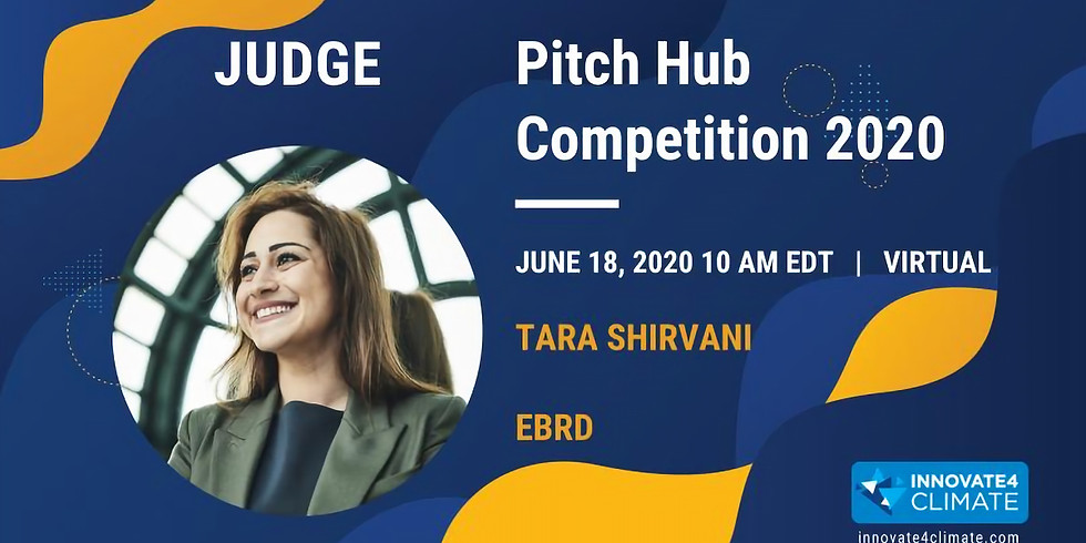 World Bank 'Innovate 4 Climate' Pitch Hub Competition 2020
