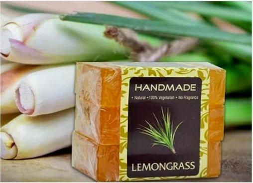 Lemongrass Handmade Soap (Pack of 3)