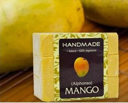 Mango Handmade Soap (Pack Of 3)