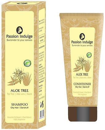 Aloe Tree Anti-Dandruff Shampoo And Conditioner (Combo)