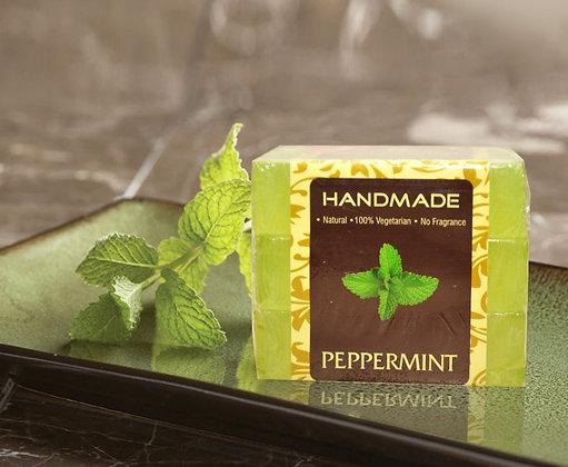 Peppermint Handmade Soap (Pack Of 3)