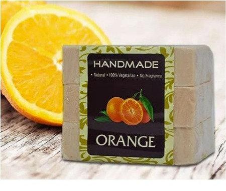 Orange Handmade Soap (Pack Of 3)