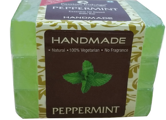 Peppermint Bath Bar (Pack Of 3)