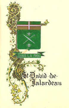Armoiries Sain-David-de-Falardeau