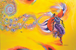 Butterfly Shawl Dancer