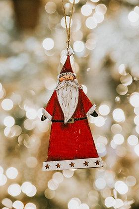 Assorted Wood Ornaments