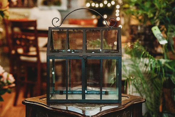 """12"""" Greenhouse Terrarium"""