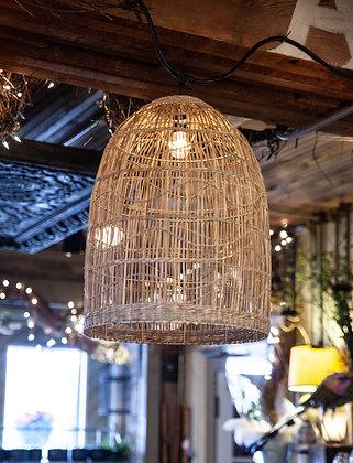 Woven Seagrass Lantern - Dome