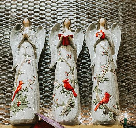 Holiday Angel Figurines