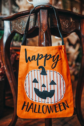 Trick or Treat Canvas Totes