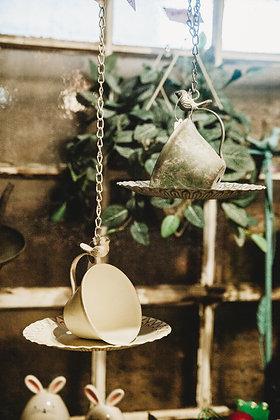 Teacup & Saucer Bird Feeder