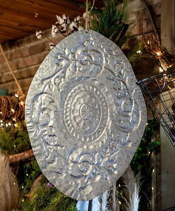 Large Stamped Metal Shield