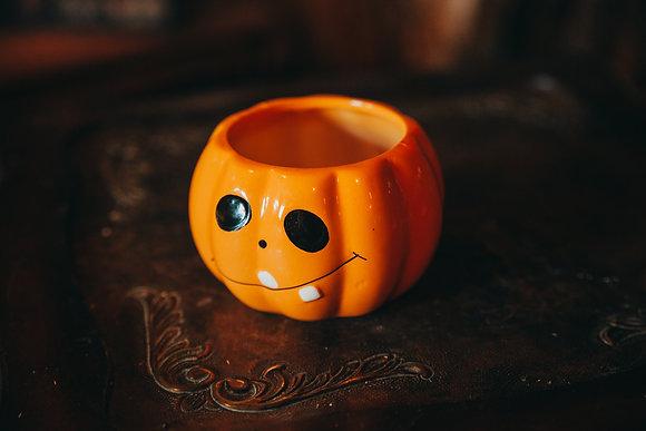 Mini Jack-O-Lantern Container