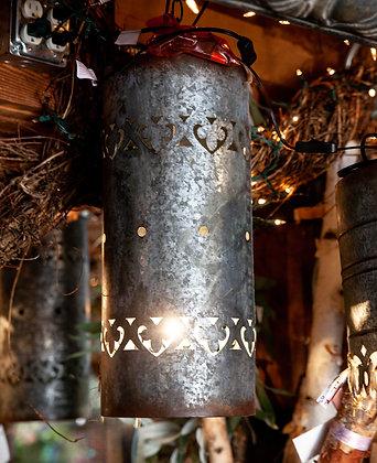 Cylinder Sheet Metal Pendant Light