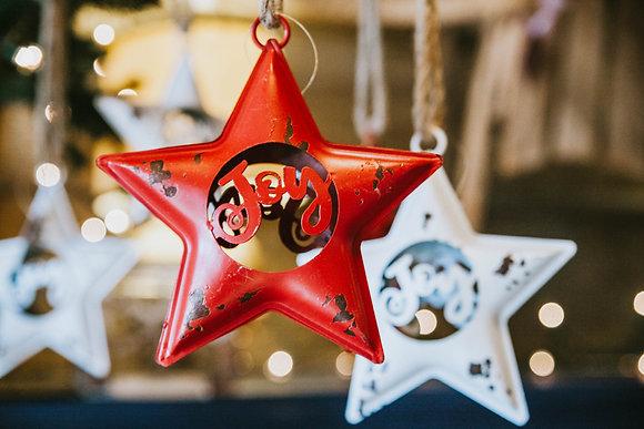 Hanging Joy Stars