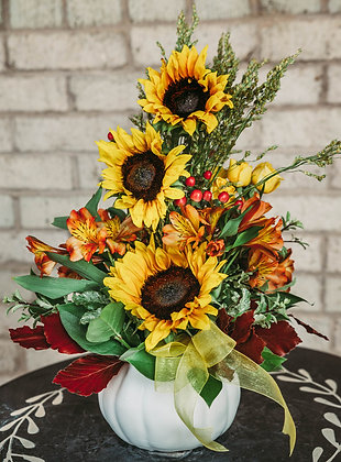 P.S.L. - Pumpkin, Sunflowers & Leaves