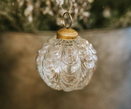 "2.5"" Glass Bulb Ornament"