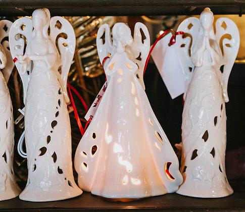 Light Up Angel Figurines