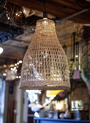 Woven Seagrass Lantern - Tapered