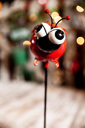 Ladybug Yard Ornament