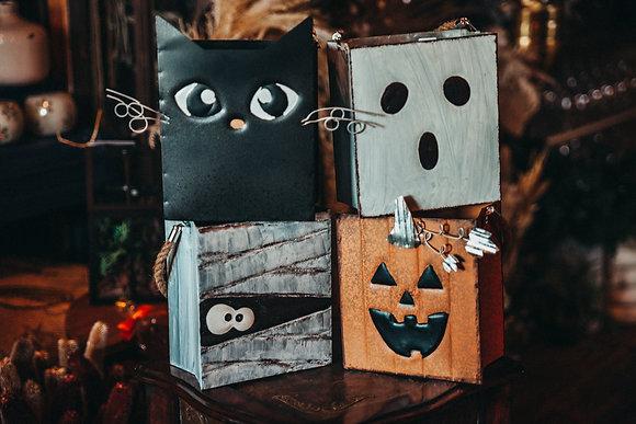 Metal Halloween Bags