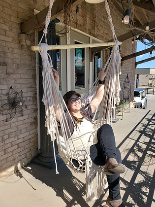 Macrame Swing (Tessa Not Included)