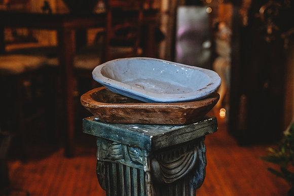 Wood Dough Bowls - Medium