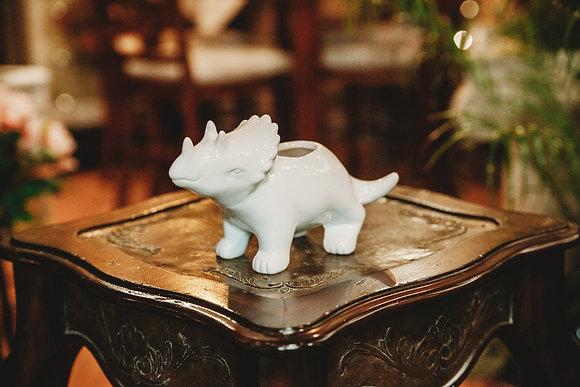 Triceratops Pot