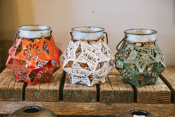 Hexagon Christmas Lanterns