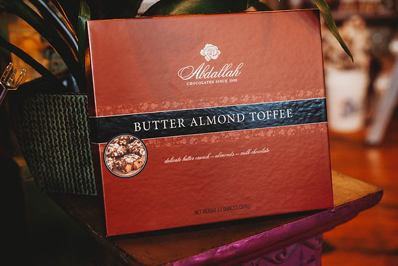 Butter Almond Toffee Box