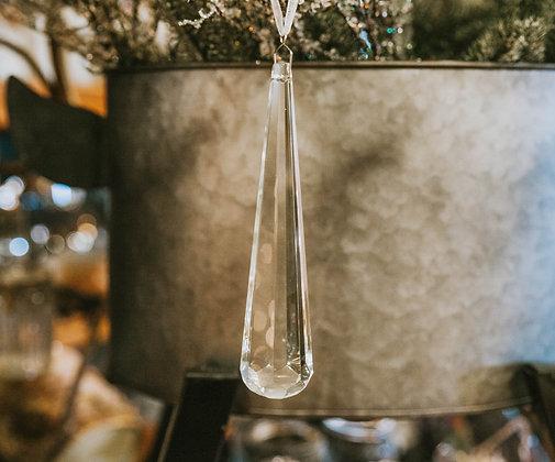 Crystal Ornament - Long Drop