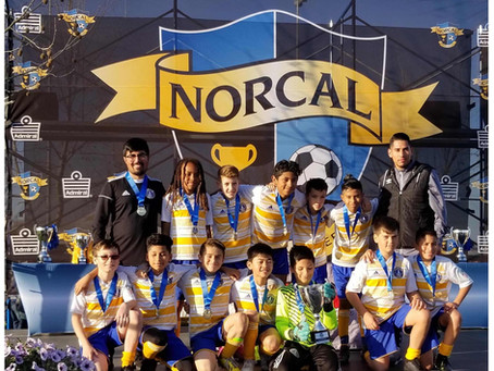 U12 Bay Oaks Boys are NorCal State Cup Champs!!