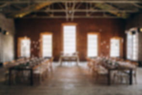 Rustic Dining Hall