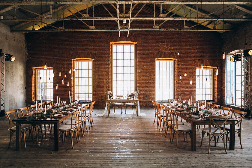 Rustic Dinning Hall