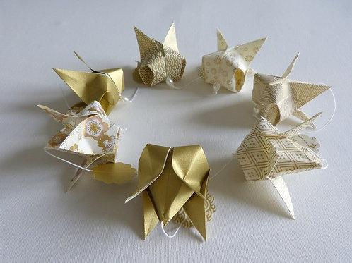 Couronne origami - ESTAMPAPIER