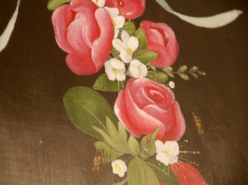 Peinture décorative sur bois - FLORENCE MELOCCO