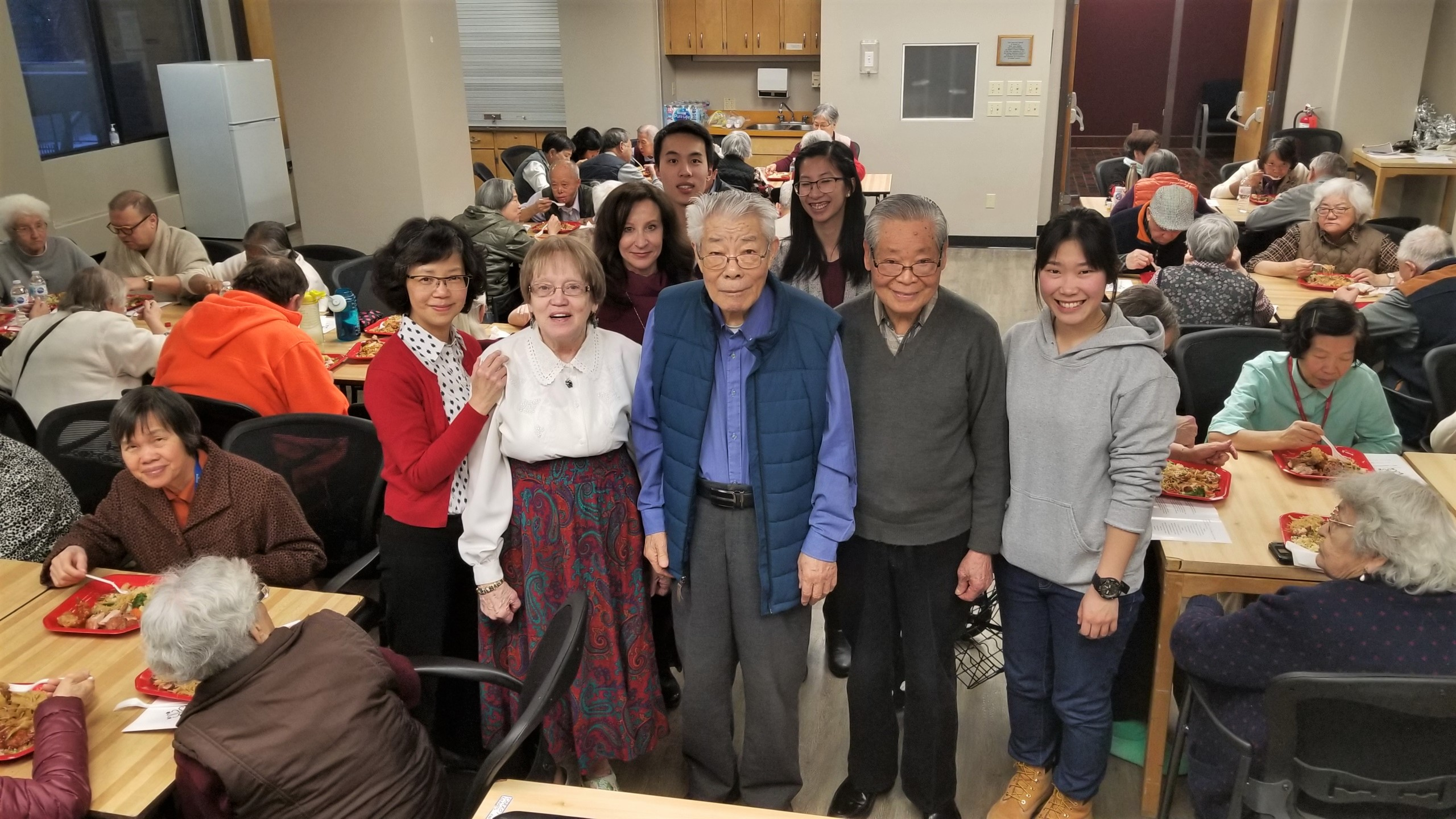 Senior-Led Chinese New Year dinner