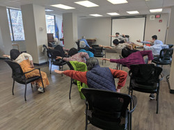 Exercise Class, May 2019