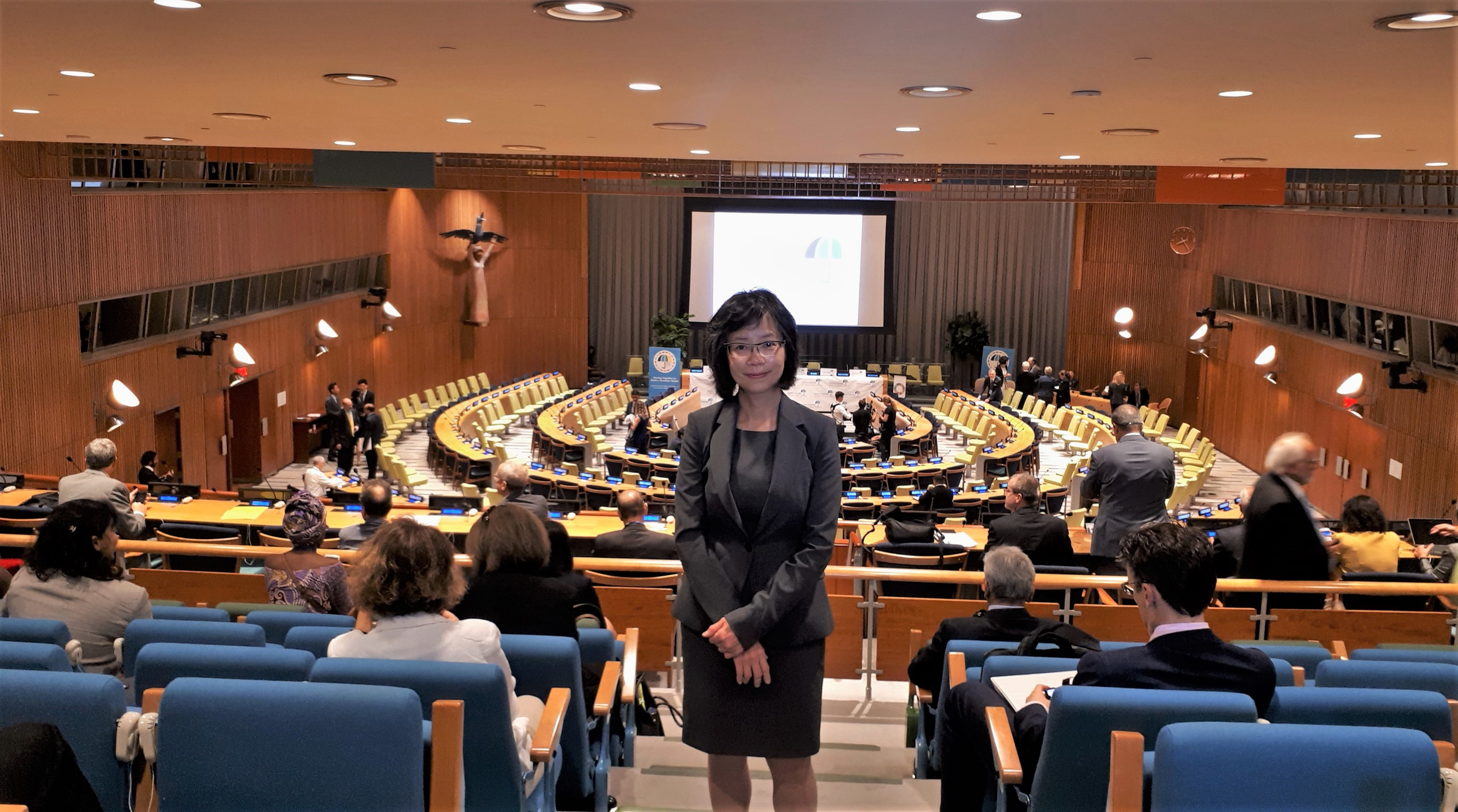 Dr.Ng second attendance to UN meeting on Universal Health Coverage in New York, Sept 2019