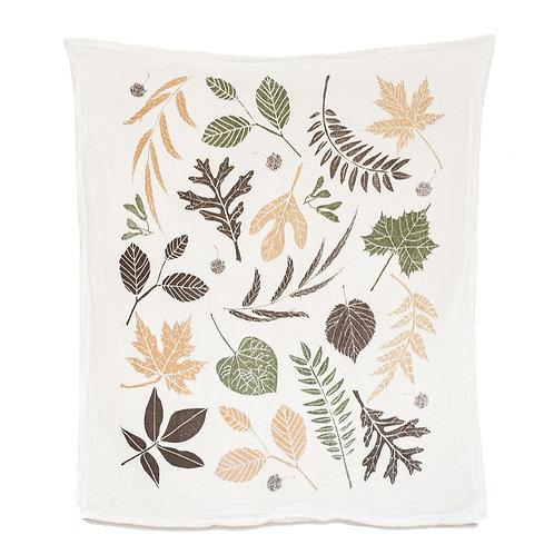 Leaf Pile Towel
