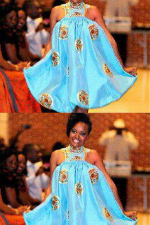 Chic Afriglam balloon dress