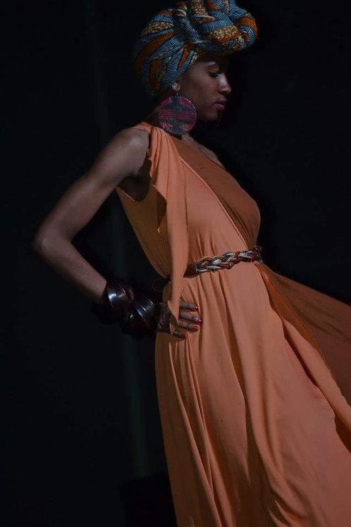 Chic Afrglam Zoe dress by O'MAK