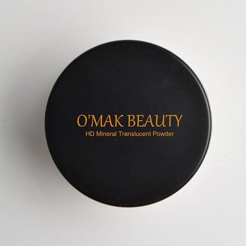 HD translucent velvety finishing powder