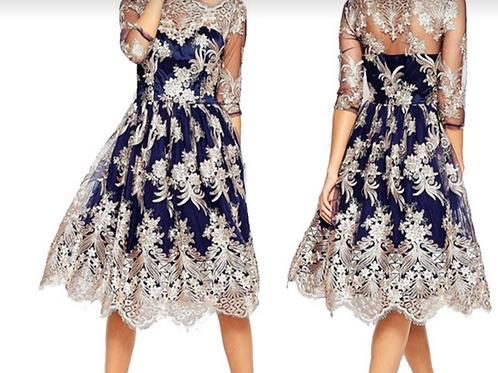 Chic Glory divine lace dress