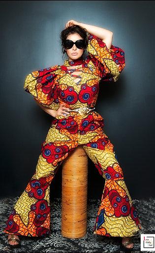 AfroChic Jumpsuit
