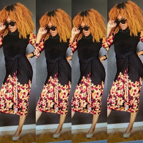 Chic 2 piece WRAP dress