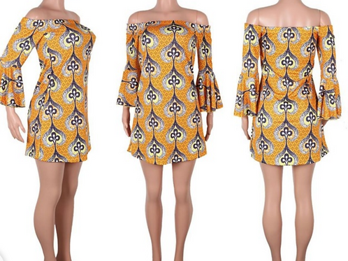 Chic afriglam Noma dress