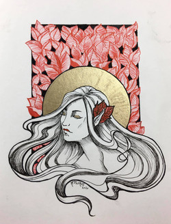 Haloed by: Katrina Flores